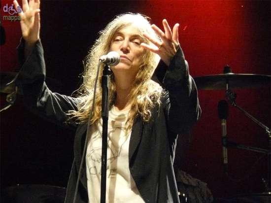 20070707 Patti Smith live Villafranca Verona 03