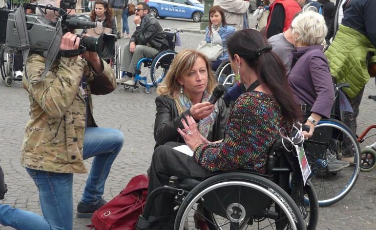 Il servizio del TGR Veneto, andato in onda il 26 aprile 2015, sulla manifestazione 25 aprile - Liberazione dalle barriere a Verona