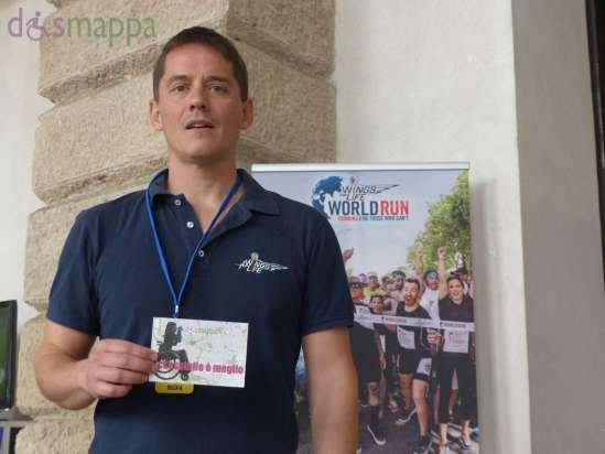 Vieri Failli, Coordinatore Scientifico Italia Fondazione Wings For Life, testimone di accessibilità per dismappa. E' grazie a ricercatori appassionati come lui se in futuro le lesioni midollari avranno minori conseguenze nella vita delle persone.