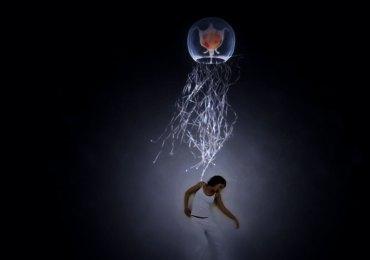 Teatro Laboratorio di Verona Sabato 30 maggio 2015, ore 21.00 UMANITA' > trilogia di Silvia Girardi Umanità è un progetto teatrale che si sviluppa in 3 tappe (libro I – II - III), non cronologiche e accomunate dalla riflessione su Natura e Uomo. Umanità > libro I percorre il tempo e lo spazio in un paesaggio magico dal sapore performativo attraversando il profondo oceano. S'interroga sull'intelligenza evolutiva, l'immortalità, il paesaggio planetario, le minacce ecologiche e l'azione individuale consapevole.