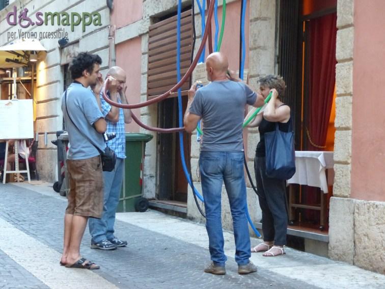 In Via Fama, per Verona risuona, questo originale modo di condividere la musica ideato da Matteo Fontanabona