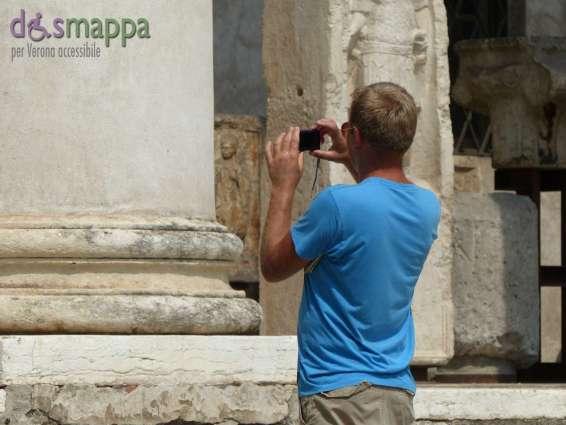 20150717 Museo Lapidario Maffeiano Verona accessibile dismappa 1068