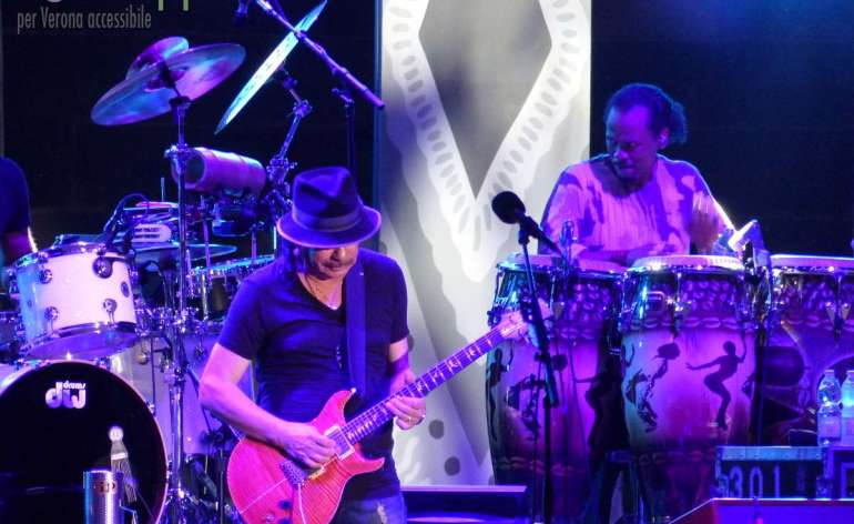 20150721 Carlos Santana Corazon Tour Arena Verona dismappa 053