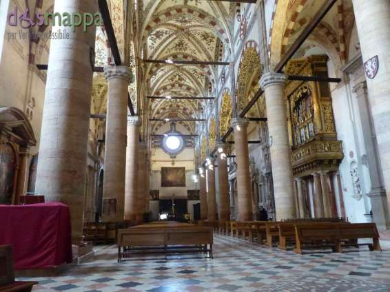 20150721 Chiesa Santa Anastasia Verona accessibile dismappa 489