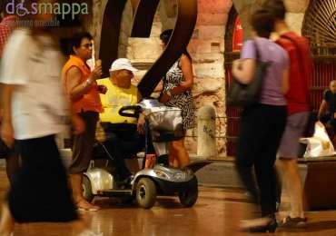 20150802 Carrozzina elettrica Arena Verona dismappa