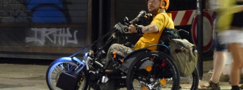 20150918 Disabile carrozzina fuoristrada Verona dismappa 8
