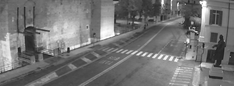 20151003 Castelvecchio bianco nero webcam Verona