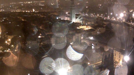 20151016 webcam ponte pietra verona pioggia