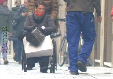 20151202 Signora disabile carrozzina Verona accessibile dismappa