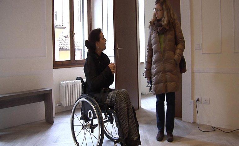 Il servizio di Marina Zerman dedicato a Casa Dismappa andato in onda su Tele Pace