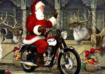 20151217 Babbo Natale moto vintage