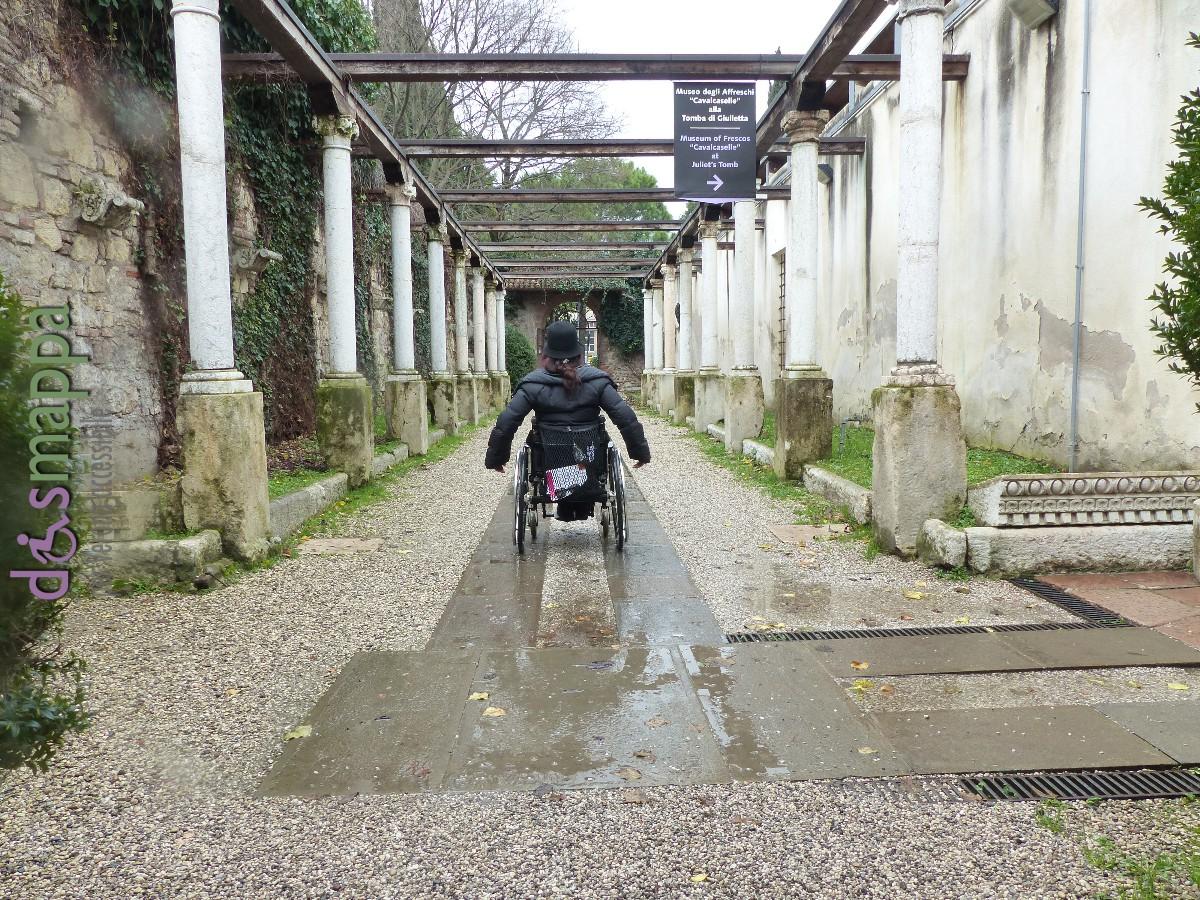 20160229 Accessibilita disabili Museo degli Affreschi Verona dismappa 523