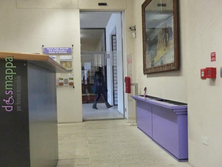20160229 Accessibilita disabili Museo degli Affreschi Verona dismappa 552