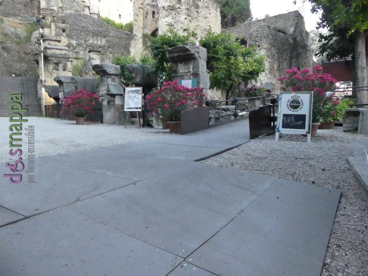 20160718 Rampa disabili Teatro Romano Verona dismappa 079
