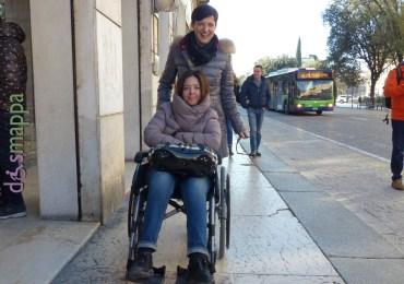 20160220 Ragazza disabile carrozzina Verona dismappa