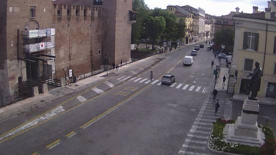 20160520 Restauro affresco Castelvecchio Verona webcam