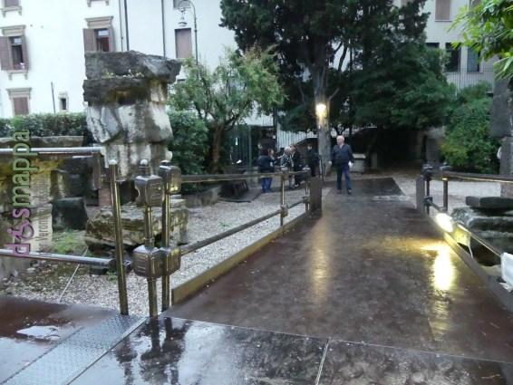 20160602 Passerella disabili Teatro Romano Verona dismappa 142