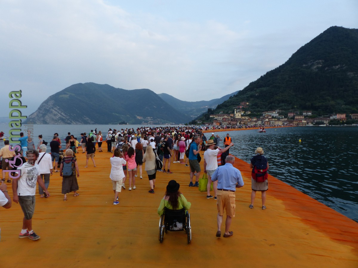 20160629 Christo Floating Piers Jeanne Claude Iseo disabili dismappa 1629