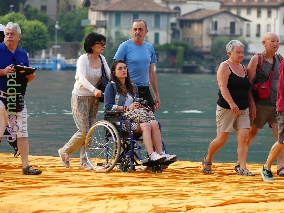 20160629 Christo Floating Piers Jeanne Claude Iseo disabili dismappa 486