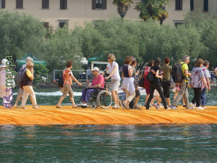 20160629 Christo Floating Piers Jeanne Claude Iseo disabili dismappa 794