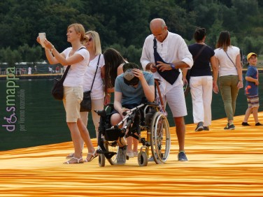 20160629 Christo Floating Piers Jeanne Claude Iseo disabili dismappa 825