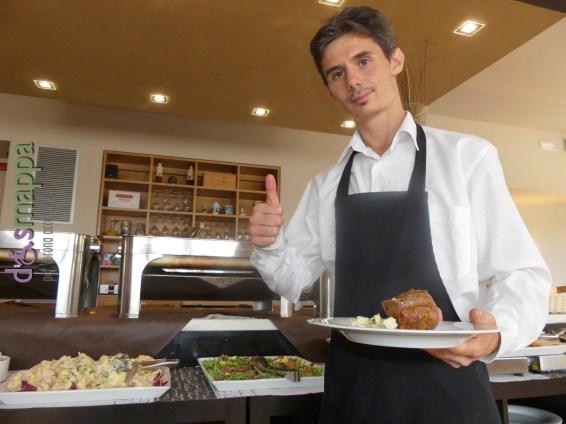 Il cameriere Mattia ristorArte Gran Can Pedemonte Verona