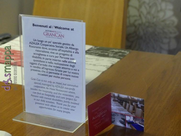 Inofrmazioni ristorArte Gran Can Pedemonte Verona