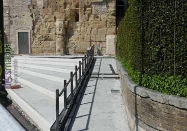 20170409 Rampe disabili Teatro Romano Verona dismappa 010