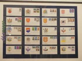 20170804 Stamps Queen Elisabeth II Verona dismappa 089