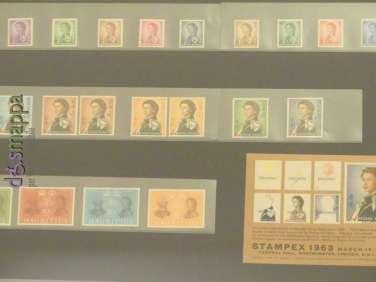 20170804 Stamps Queen Elisabeth II Verona dismappa 128