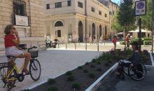 Tornato il parcheggio disabili in Piazza Viviani