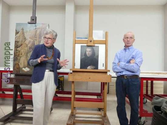 I restauratori dei quadri rubati a Castelvecchio spiegano i lavori di restauro e conservazione