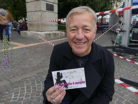 Max Casacci dei Subsonica testimone di accessibilità per dismappa