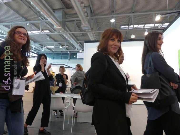 Patrizia Nuzzo all'inaugurazione di ArtVerona 2017
