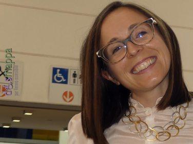 Ilaria Segala, Assessore all'eliminazione delle barriere architettoniche, all'inaugurazione di ArtVerona