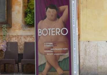 manifesto mostra fernando botero a AMO Verona