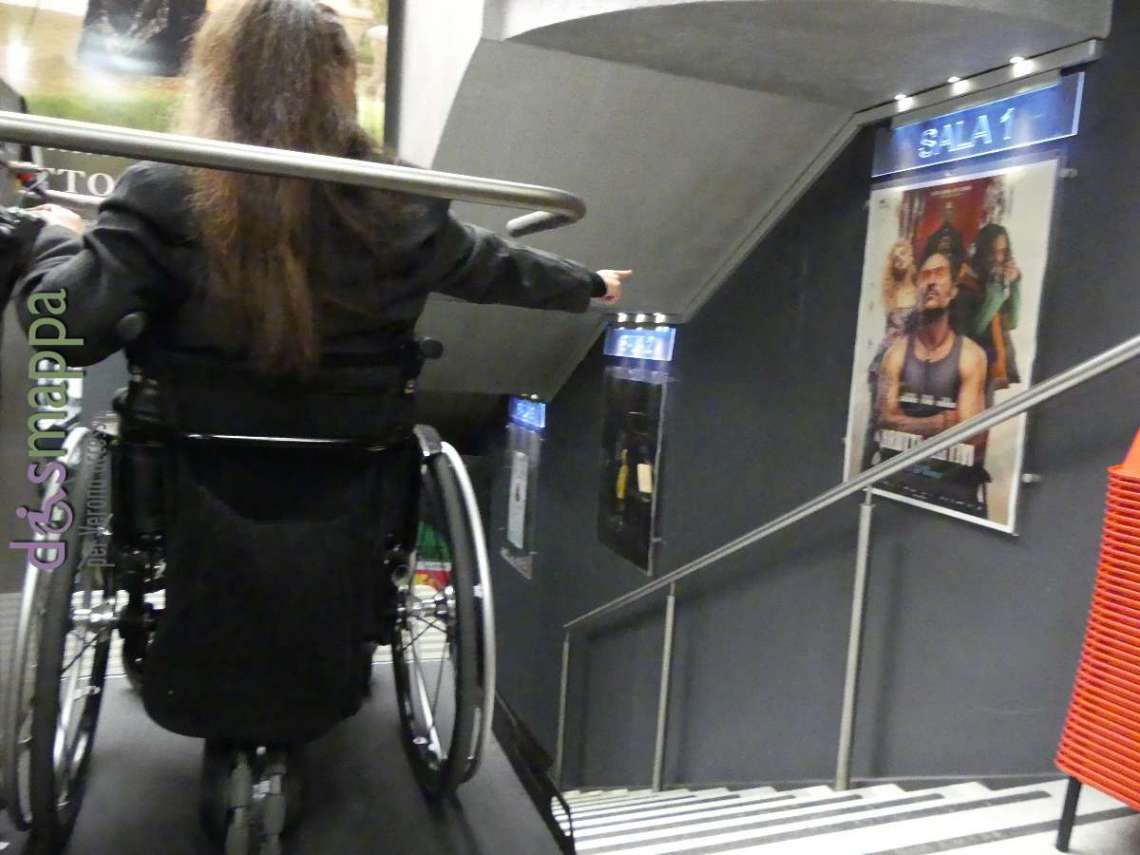 20171020 Brutti e cattivi cinema disabile carrozzina Verona dismappa 081
