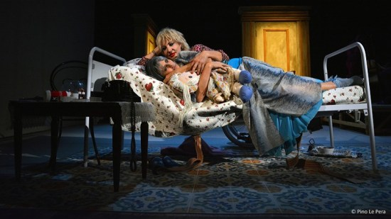 20171128 Iaia Forte Isabella Ferrari Sisters Teatro Verona