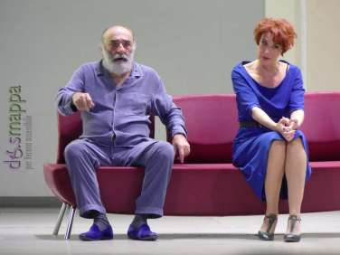20171212 Alessandro Haber Lucrezia Lante Della Rovere teatro Verona ph dismappa 455
