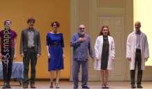 Il padre con Haber e Lante Della Rovere per il Grande Teatro