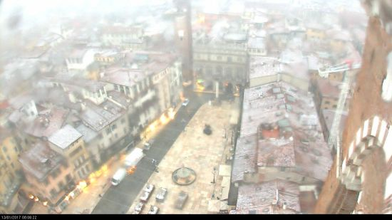 20170113 Neve Piazza Erbe Verona webcam
