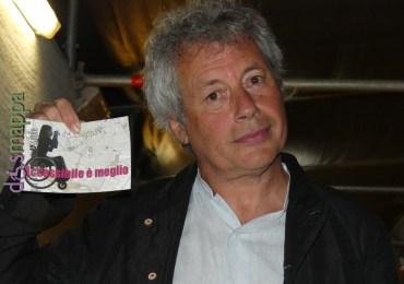 Lo scrittore Alessandro Baricco testimone di accessibilità per dismappa al Teatro romano di Verona
