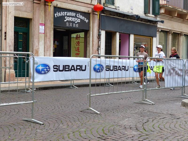 20131006 Last 10km Verona  Marathon solidale e le transenne