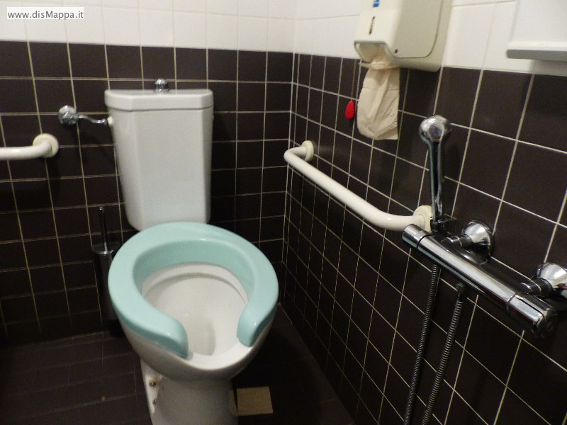 Wc bagno disabili Pizzeria Ristorante Olivo