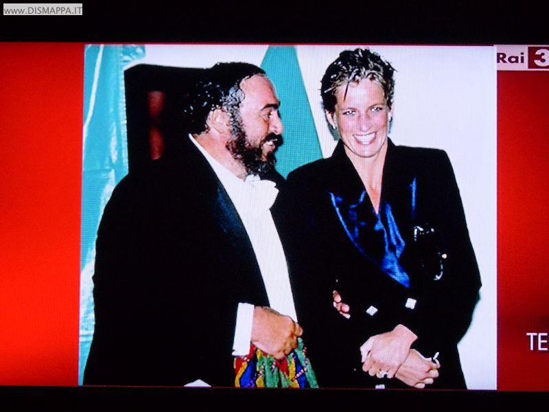 AMO Pavarotti - Con la Principessa Diana