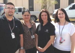 Diersen Charities Albuquerque Staff Tour Los Luna