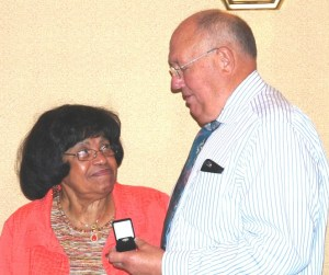 Robinson Recognized For 25 Years Service