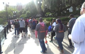 Dismas Charities Orlando Staff Participate In AIDS Walk