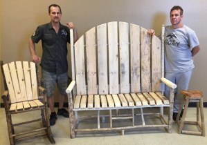 Dismas Charities Portland Woodworking Group Create Practicality And Beauty Using Throwaways