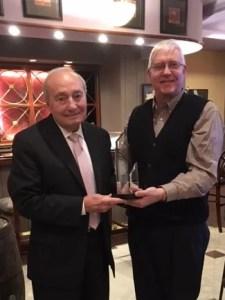 Joe Guy Hagan Receives Dismas Charities Oscar E. Fussenegger Jr. Chariman Of The Board Award